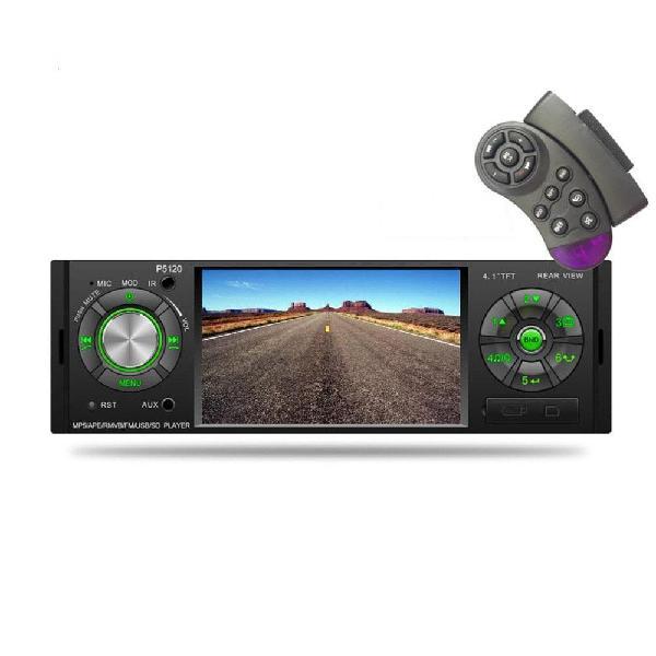 Radio Carro P5120 4.1 Mp5 Pantalla Bluetooth Mando Volante