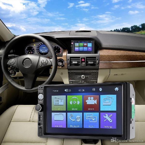 Radio carro patalla 7'' HD touchscreen MP5 videos bluetooth