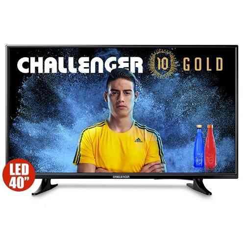 Televisor Challenger 40 Pulgadas Ref 40l85 T2 +led Nuevo