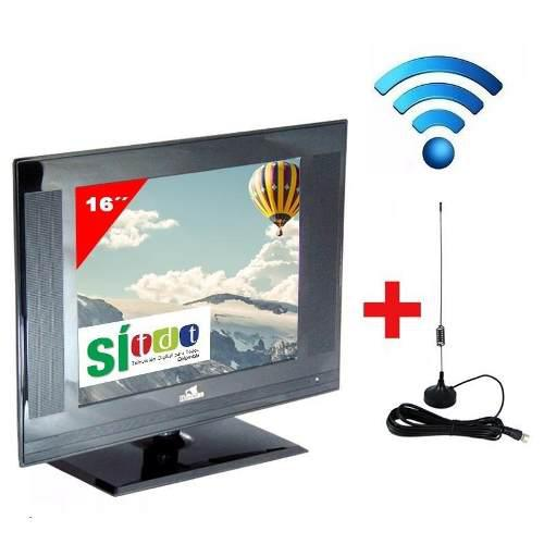 Televisor Huskee Tv 16 Pulgadas Con Tdt Monitor Envio Gratis