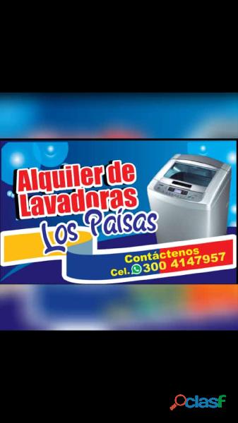 Alquiler de Lavadoras Los Paisas