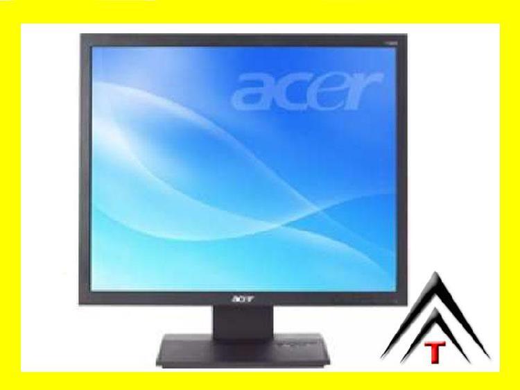 monitor computador LCd gran tamaño 24 bajo consumo