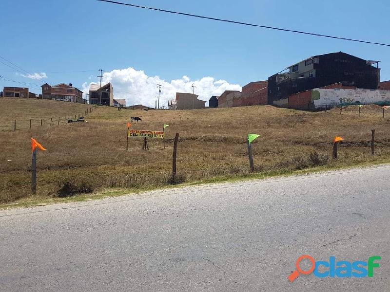 Vendo lote urbano en Guasca Cundinamarca apto para construir