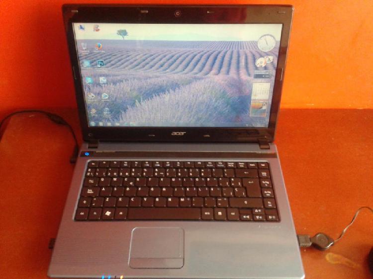 Portatil Acer Aspire 4752. 8gb Ram 300 Dd. Cambio por
