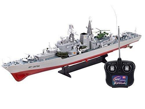 Smasher Destroyer 31 Rc Ht2879 Barco De Guerra