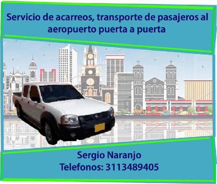 Acarreos Y Transporte de Pasajeros