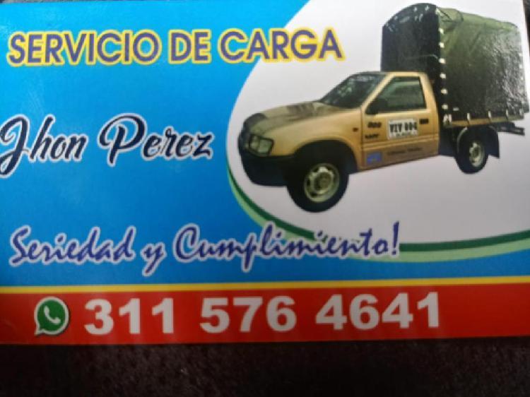 Ofrezco Servicio de Acarreos,mudanzas...