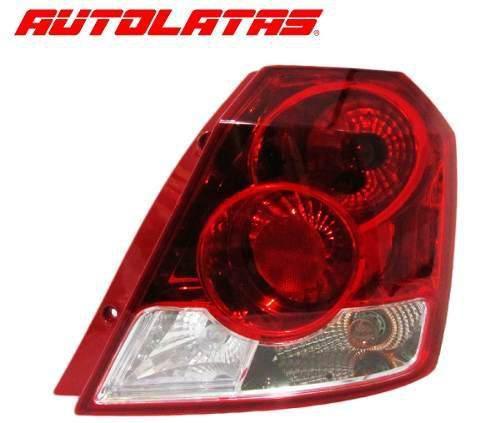 Stop Derecho Chevrolet Aveo Hatchback Blanco 2006 A 2012 Sp