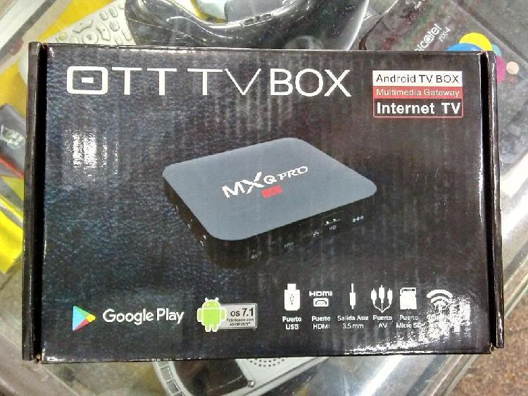 Tv Box Android 7 Convierte Tv a Smarttv