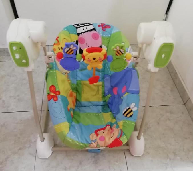 Silla Mesedora Y Vibradora para Bebes