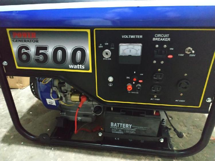 Planta Electrica de 6.500w Yamaha