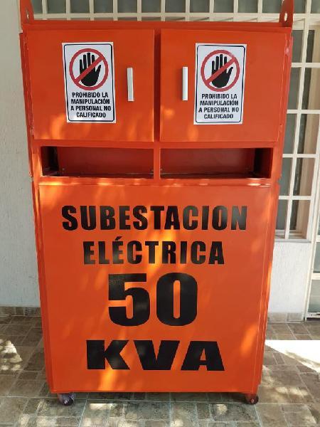 SUBESTACION ELECTRICA PORTATIL DE 50 KVA