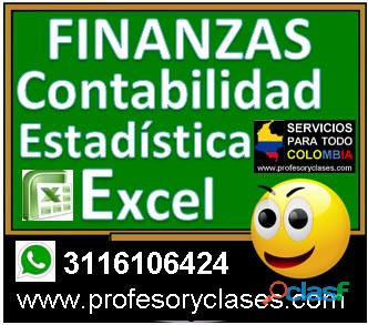Profesor particular Contabilidad a domicilio Medellin