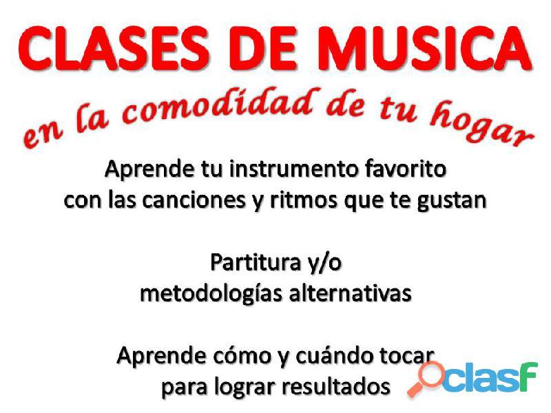 CLASES DE TEORIA MUSICAL Y ARMONIA A DOMICILIO EN BOGOTA CON