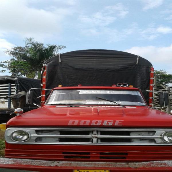 Dodge con Motor Npr Diesel Mod 74