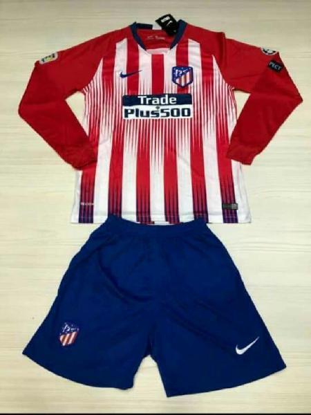 Camiseta Y Pantaloneta Atletico Madrid