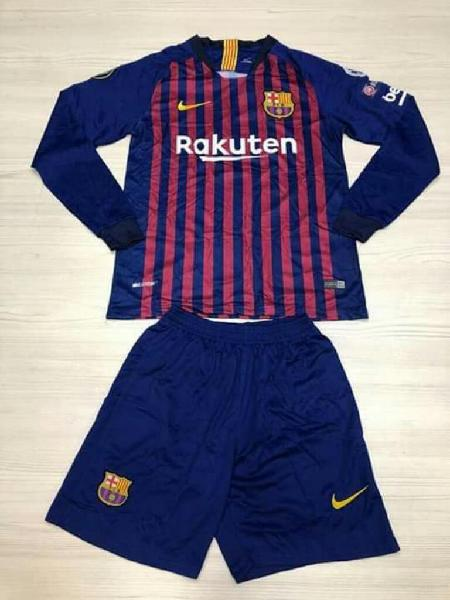 Camiseta Y Pantaloneta Barcelona Hombre