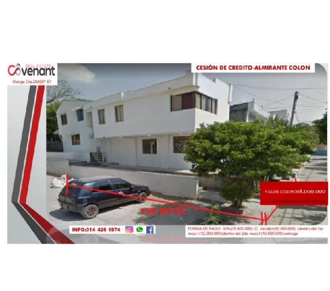 Se vende hermosa casa ubicada en el barrio Almirante Colon