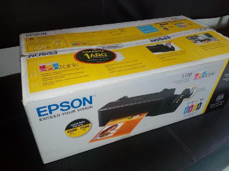 EPSON L120 SUBLIMACION 10/10
