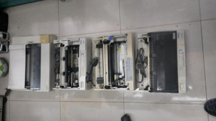 Lote de impresoras Epson Matrix de punto para repuestos