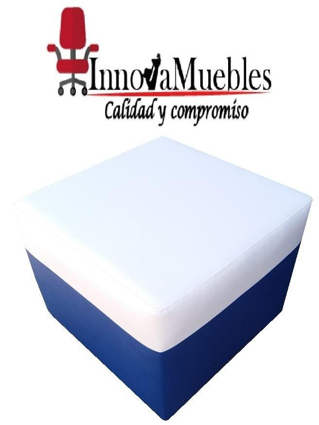 PUF INDIVIDUALES EN TODOS LOS COLORES Y ESTILOS FABRICAMOS