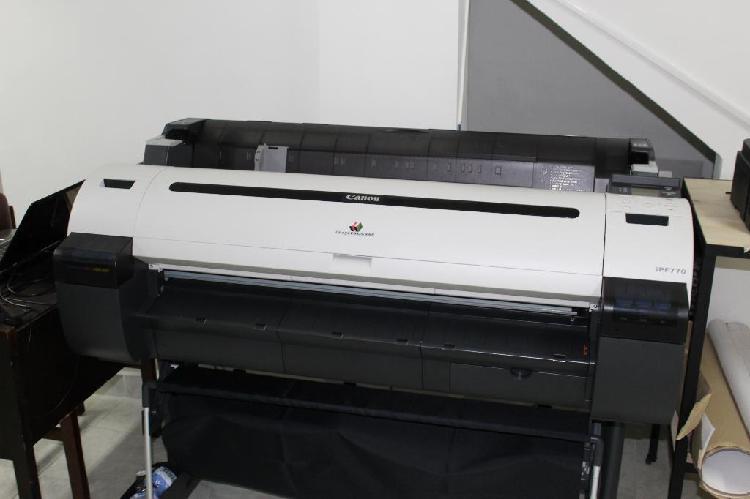 Plotter de Impresion Canon Ipf 770 36 in impresión en papel