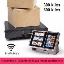 Balanza Bascula Pesa 300 Kg Tablero Inalámbrica Wifi