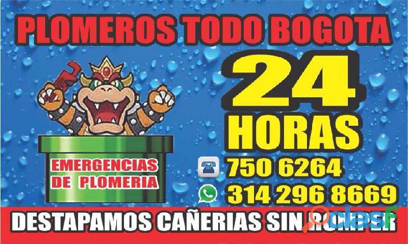 PLOMEROS TODO BOGOTA 24 HORAS 7506264