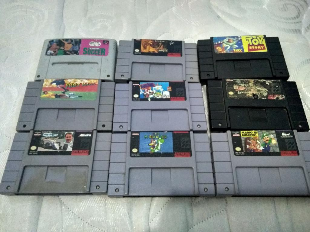 Juegos Super Nintendo Y Game Boy