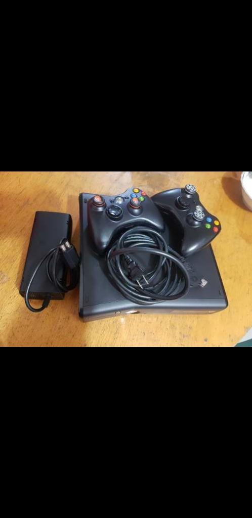 Xbox 360 Slim Vendo Cambio Perfecto Esta