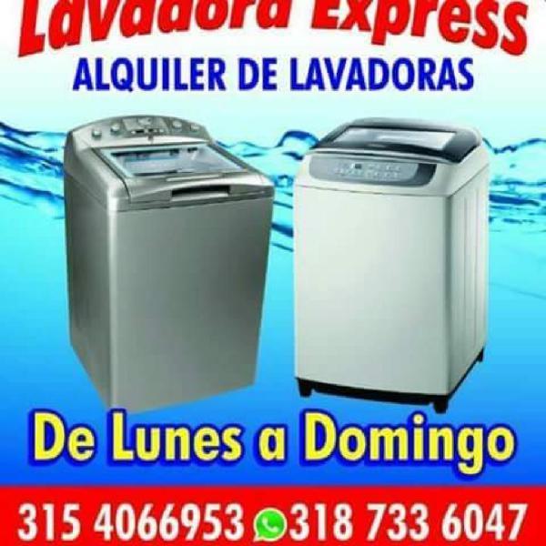 Alquiler de Lavadoras Neiva