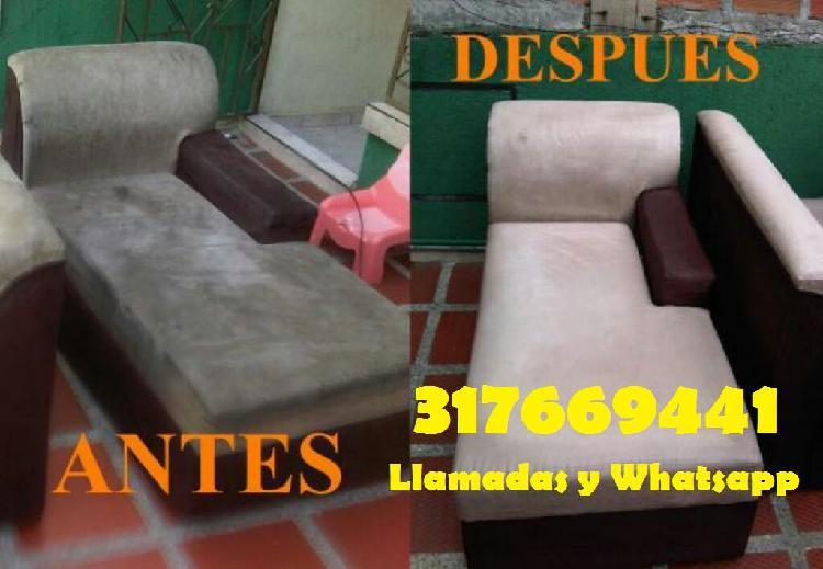 Lavado de muebles a domicilio Ibagué