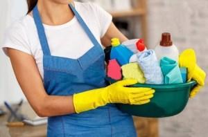 Necesita una empleada domestica al día 8
