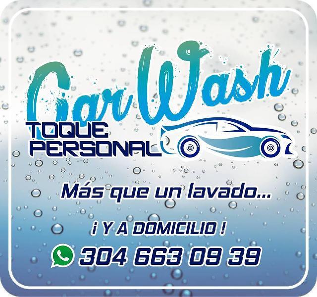Servicio de lavado de automóviles a domicilio en Medellín