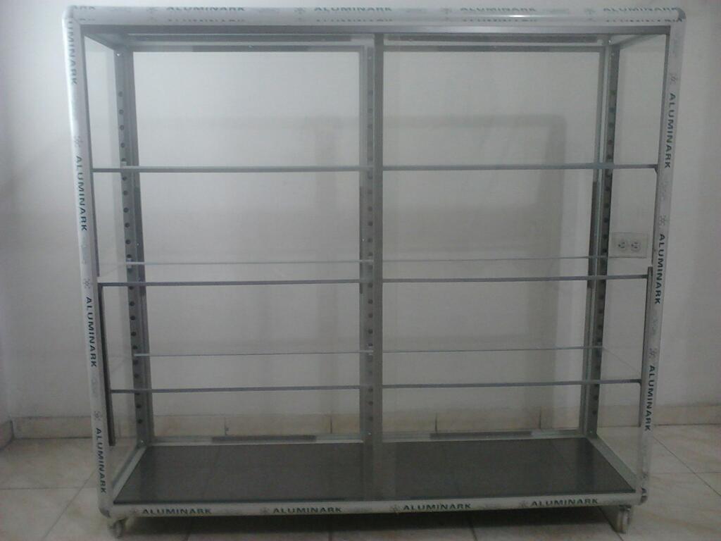 Vitrinas en Aluminio Aluminark