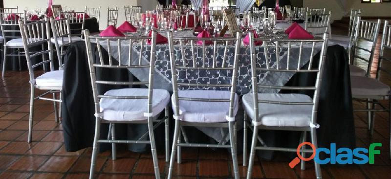Alquiler de Sillas Tiffany y Fenix Cali Colombia