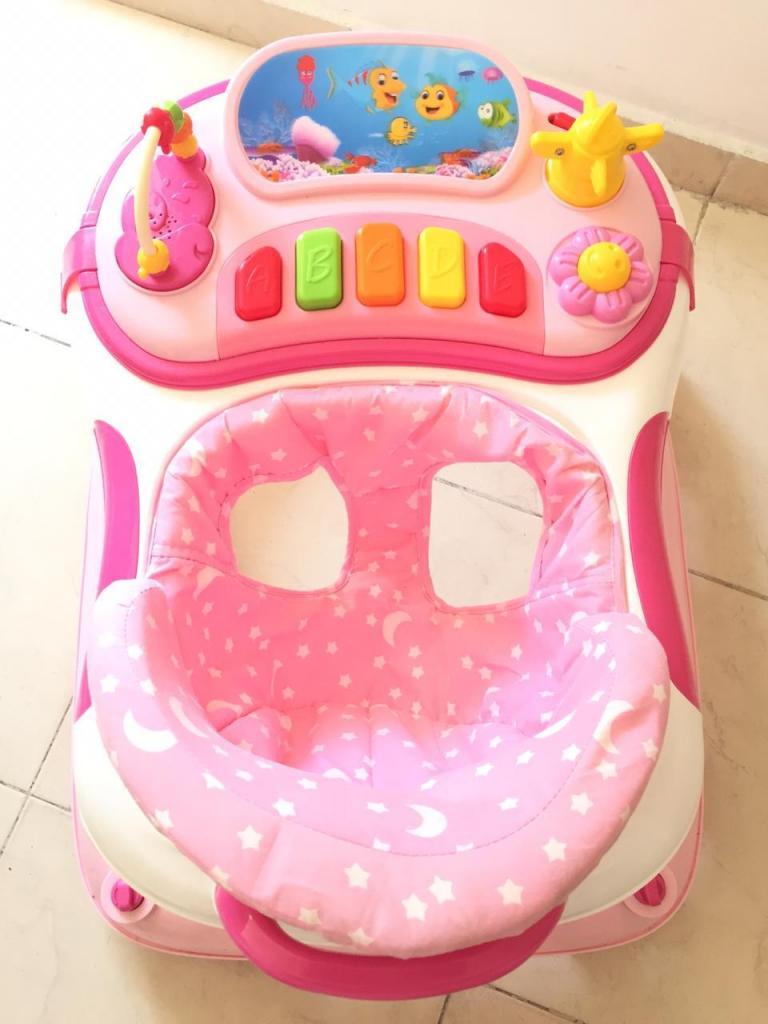 Caminador Para Bebés Rosado