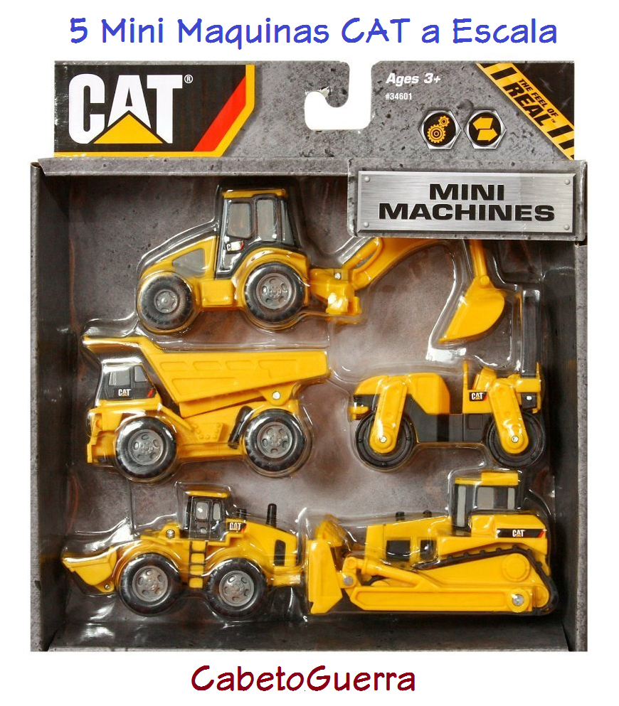 Cat 5 Vehiculos Mineros Toystate Cat Mini Máquinas Escala