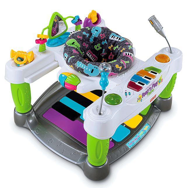 Piano fisher price little superstar usado
