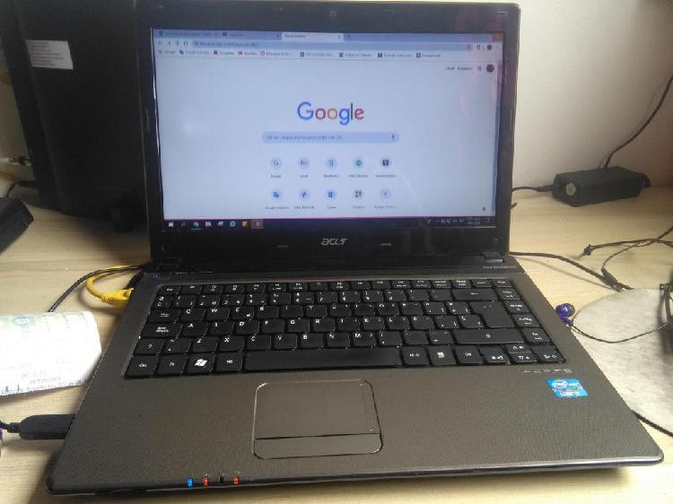 Acer aspire 4743 intel core i5 M430 1 Generación