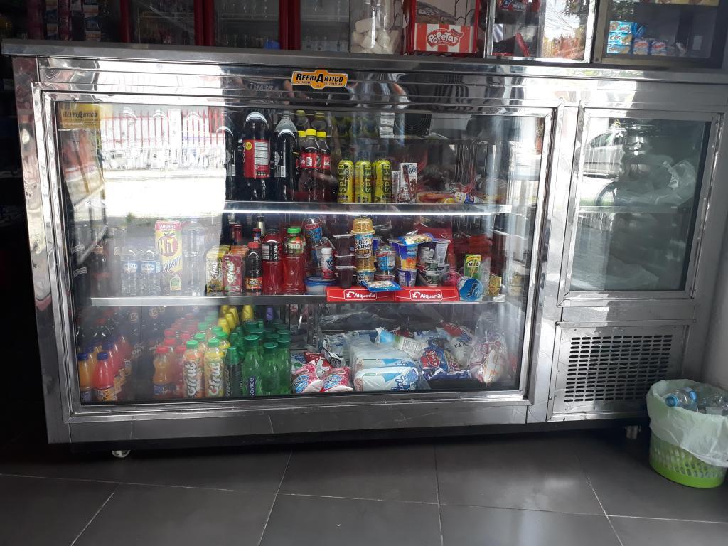 Vendo excelente refrigerador y congelador panoramico