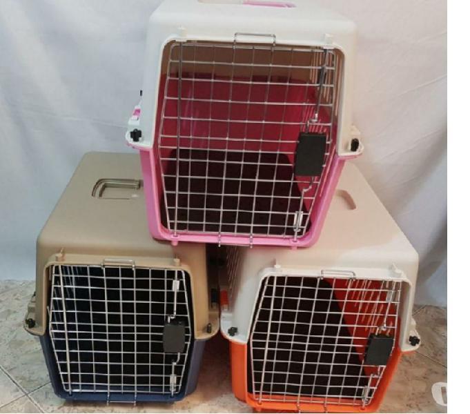 jaulas PLÁSTICAS para el transporte de mascotas NUEVAS