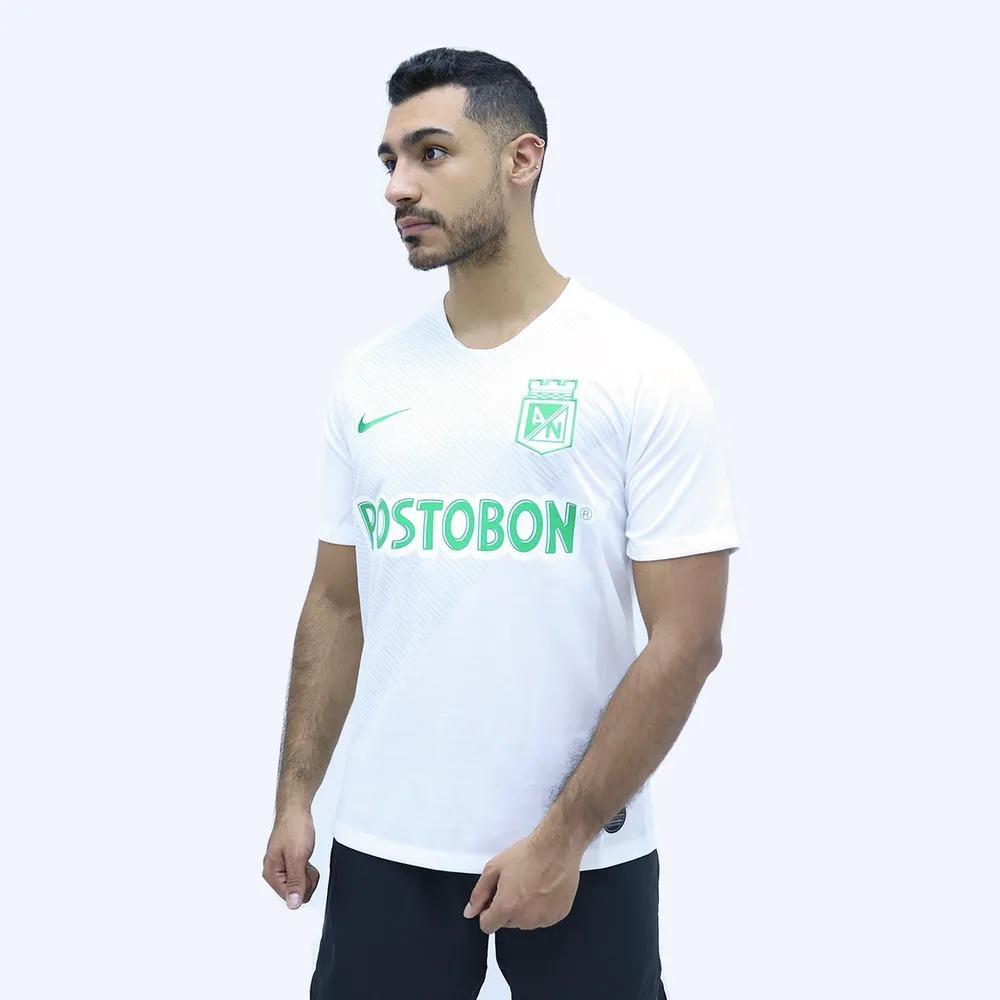 Camiseta Atlético Nacional  Suplente Nike Blanca