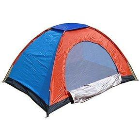 Carpa Camping Armable Impermeable 4 Personas Colores