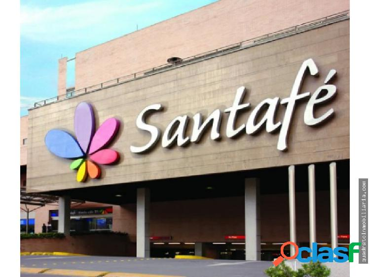 Arriendo excelente local CC Santafe Bogota C/bia