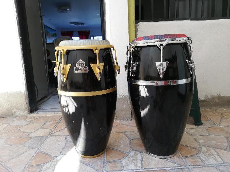 Congas Lp Galaxy Black Vendo O Cambio