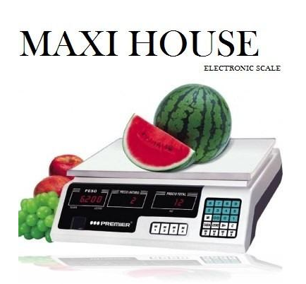 NUEVA...Bascula Electrónica Balanza Digital 40 Kg Maxi