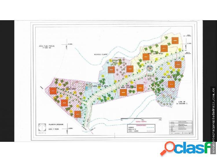 Vendo Lote Para Proyecto Urbanístico