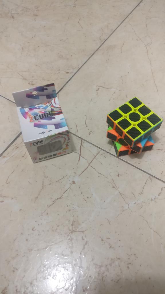 3x3 Zcube Fibra de Carbono Speedcube