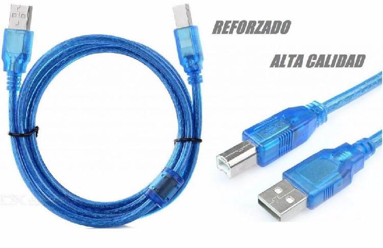 Cable Usb Para Impresora 3 M Blindado Alta Calidad